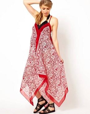 Image 4 - ASOS Maternité - Robe à imprimé foulard