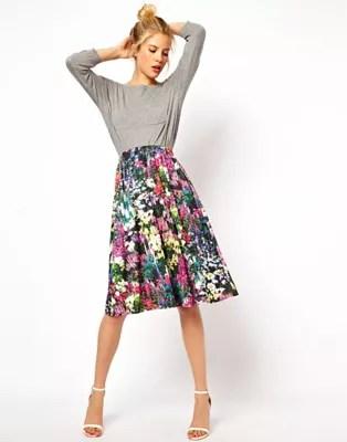 29d44657c Asos Flower Skirt | Gardening: Flower and Vegetables