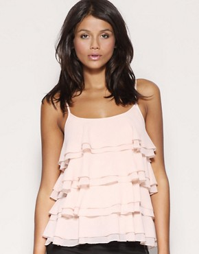 ASOS Tiered Ruffle Camisole Top