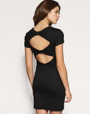 ASOS Bow Back Ponti Dress