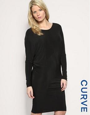 ASOS CURVE V-Back Jersey Dress