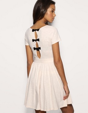 ASOS Bow Back Skater Dress