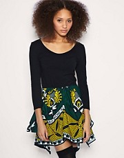 ASOS AFRICA 2 In 1 Skater Dress