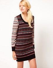 YMC Fairisle Knitted Dress