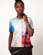 Lulu and Co Barry Regiate Rainbow Graphic Tee