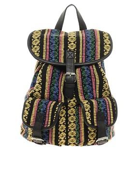 Image 1 ofASOS Ikkat Backpack
