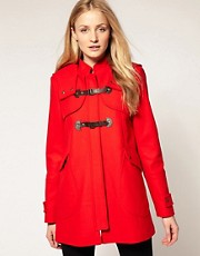 Whistles Penny Girly Duffle Coat