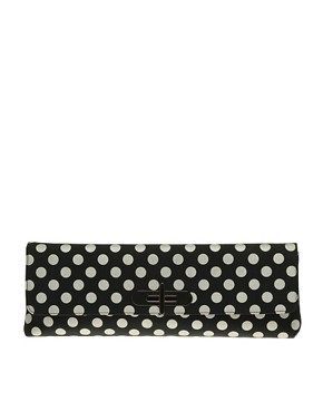 Image 1 of ASOS Long Spot Clutch