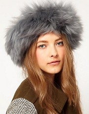 Blanche in the Brambles Sheepskin Headband