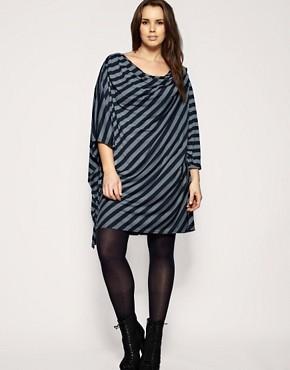 Image 4 ofASOS CURVE Stripe Dress