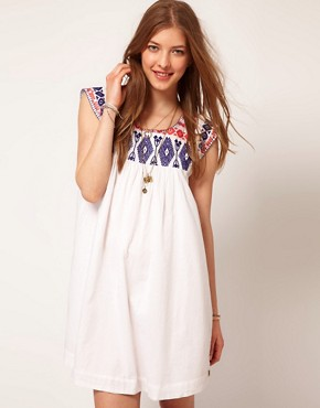 Image 1 of Maison Scotch Dress With Embroidery