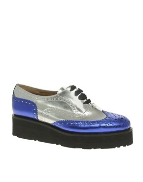 Image 1 of ASOS MACKIE Platform Lace Up Brogue