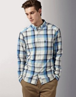 Image 1 ofPaul Smith Jeans Madras Check Tailored Fit Shirt