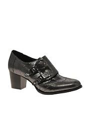 ASOS SPARKLE Mid Heel Monk Shoe