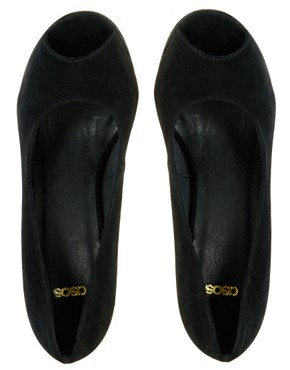 Image 1 of ASOS PARTYTIME Peep Toe Platform Shoes
