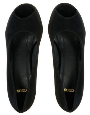 Image 1 ofASOS PARTYTIME Peep Toe Platform Shoes
