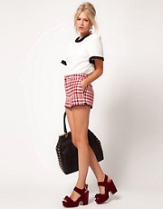 ASOS Houndstooth Shorts
