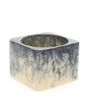 ASOS Statement Marbled Square Bangle