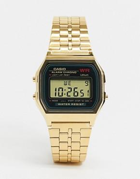 Image 1 - Casio - Montre digitale dorée