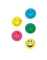 Limited Edition 5 Pack Happy Badges