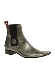 Jeffery West Muse Hi-Shine Chelsea Boots