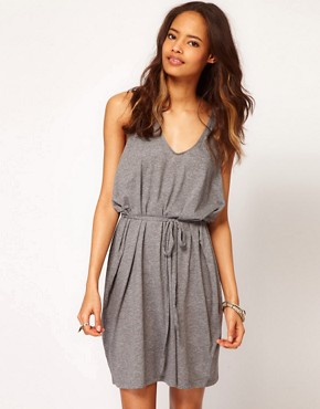 Image 1 ofCheap Monday Slouchy Dress with Twisted Racer Back