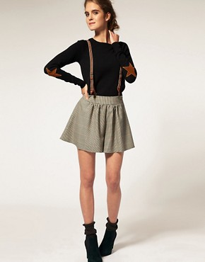 Image 4 ofASOS Jumper With Star Elbow Patches