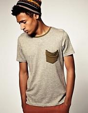 ASOS Crew Neck T-Shirt With Contrast Trim