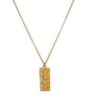 Image 1 ofSusan Caplan Exclusive For ASOS Vintage 90s Modernist Pendant