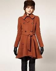 ASOS Premium Belted Coat