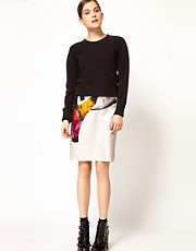 Rachel Comey Aquiline Skirt in Graphic Print