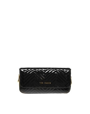 Image 1 ofTed Baker Quilted Clutch Bag