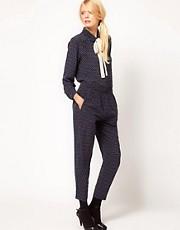 YMC Winter Moon Trousers in Silk
