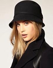 Catarzi Exclusive For Asos Cloche Leopard Bow Hat