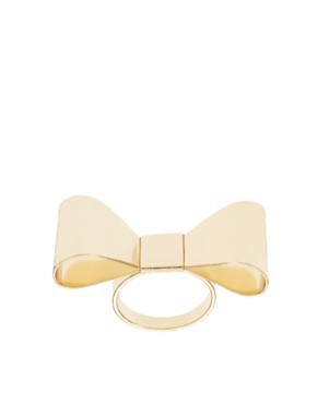 Image 1 of ASOS Bow Ring