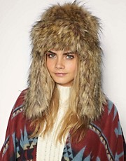 Ana Konder For ASOS Trapper Hat