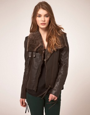 Image 1 of Muubaa Phlox Sheepskin Jacket
