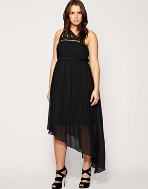 Image 4 of ASOS CURVE Beaded Cage Maxi Dress