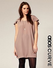 ASOS CURVE Cape Back Shift Dress