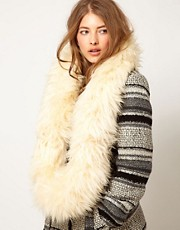 Blanche in the Brambles Exclusive TO ASOS Sheepskin Snood