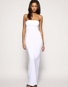 Image 1 ofASOS Boob Tube Maxi Dress