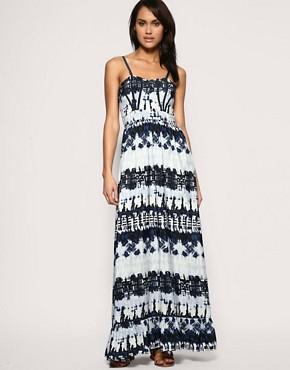 Image 1 ofASOS Batik Print Maxi Dress