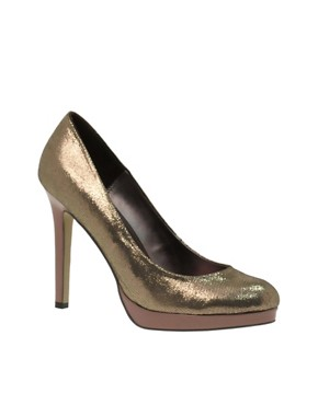Image 1 of ASOS PARIS Platform Court Shoe