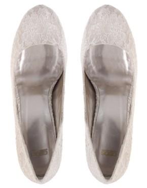 Image 1 ofASOS PEACHES Lace Platform Shoe