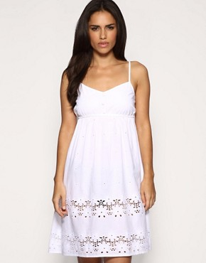 sundress, cotton, asos, white, cheap summer,women