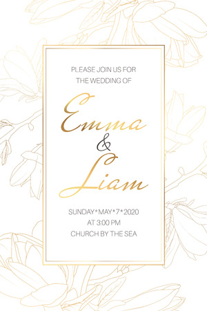 Wedding Marriage Event Invitation Card