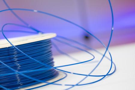 Bobine de filament plastique pour le procédé FDM