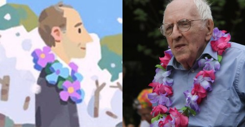 Google honors American gay rights activist Frank Kameny with Google doodle