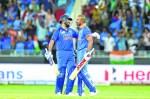 TT :  Rohit Sharma partage une histoire drôle sur le chant de Shikhar Dhawan lors d'un match , influenceur