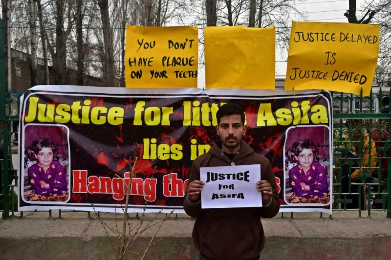 Image result for asifa bano kashmir